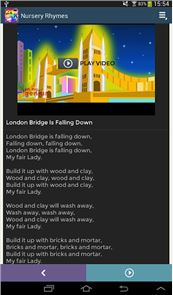 Nursery Rhymes Video & Lyrics image