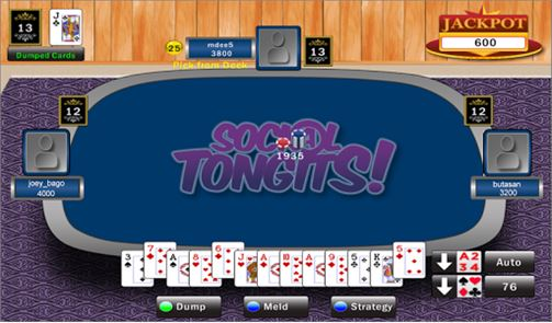 Social Tongits – Pinoy Rummy