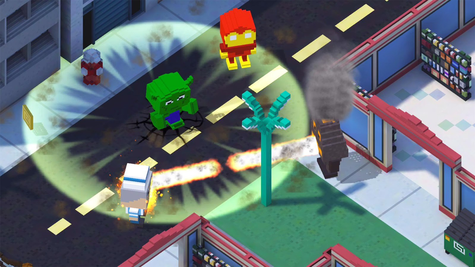 Block Battles Heroes at War for PC Windows and MAC Free Download