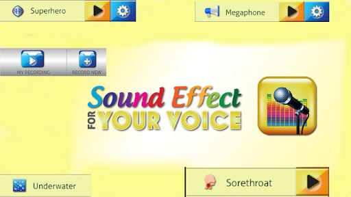 Sound Effects for Your Voice image