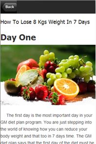 Diet Plan - Weight Loss 7 Days image