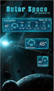 OUTERSPACE THEME GO WEATHER EX image