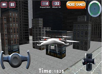 3D Drone Flight Simulator Game image