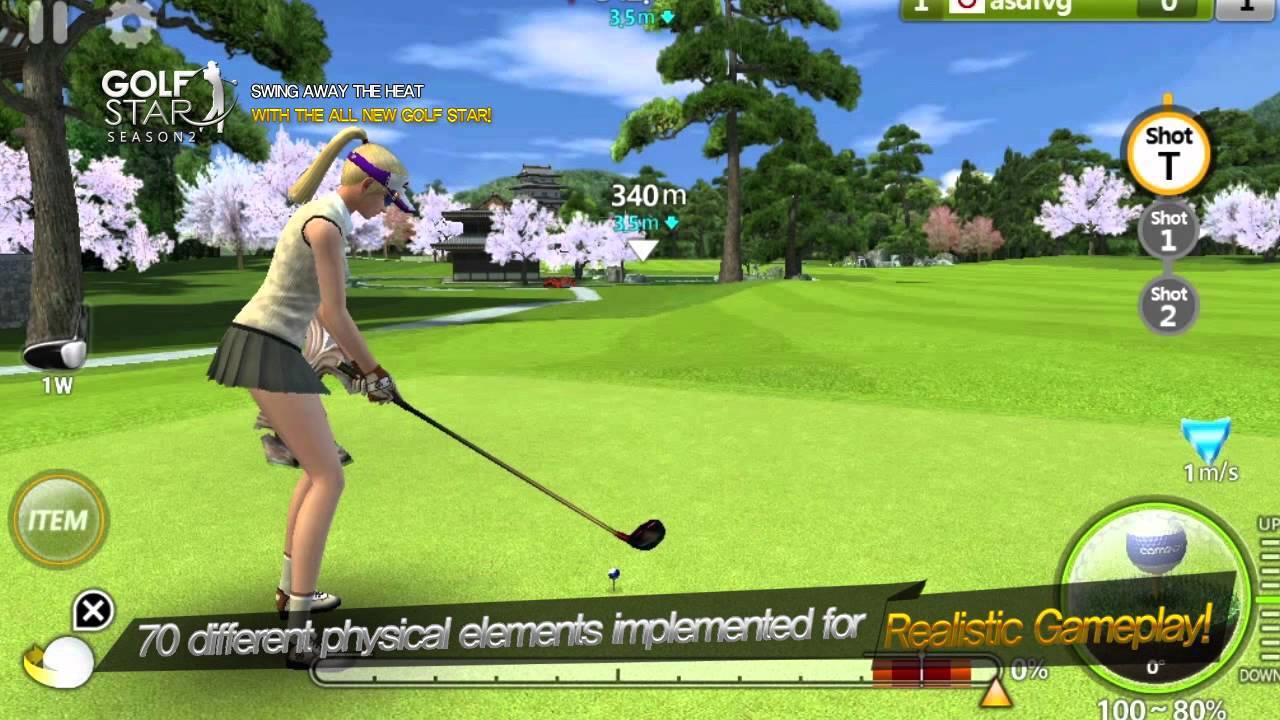 Free Golfing Game