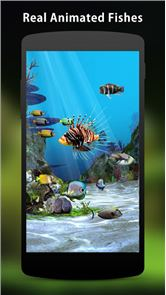 3D Aquarium Live Wallpaper HD image