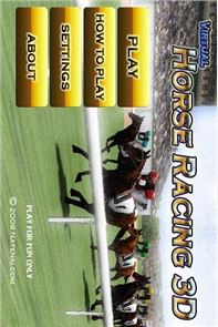 Virtual Horse Racing 3D image