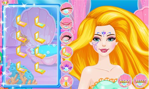 Mermaids Makeover Salon image