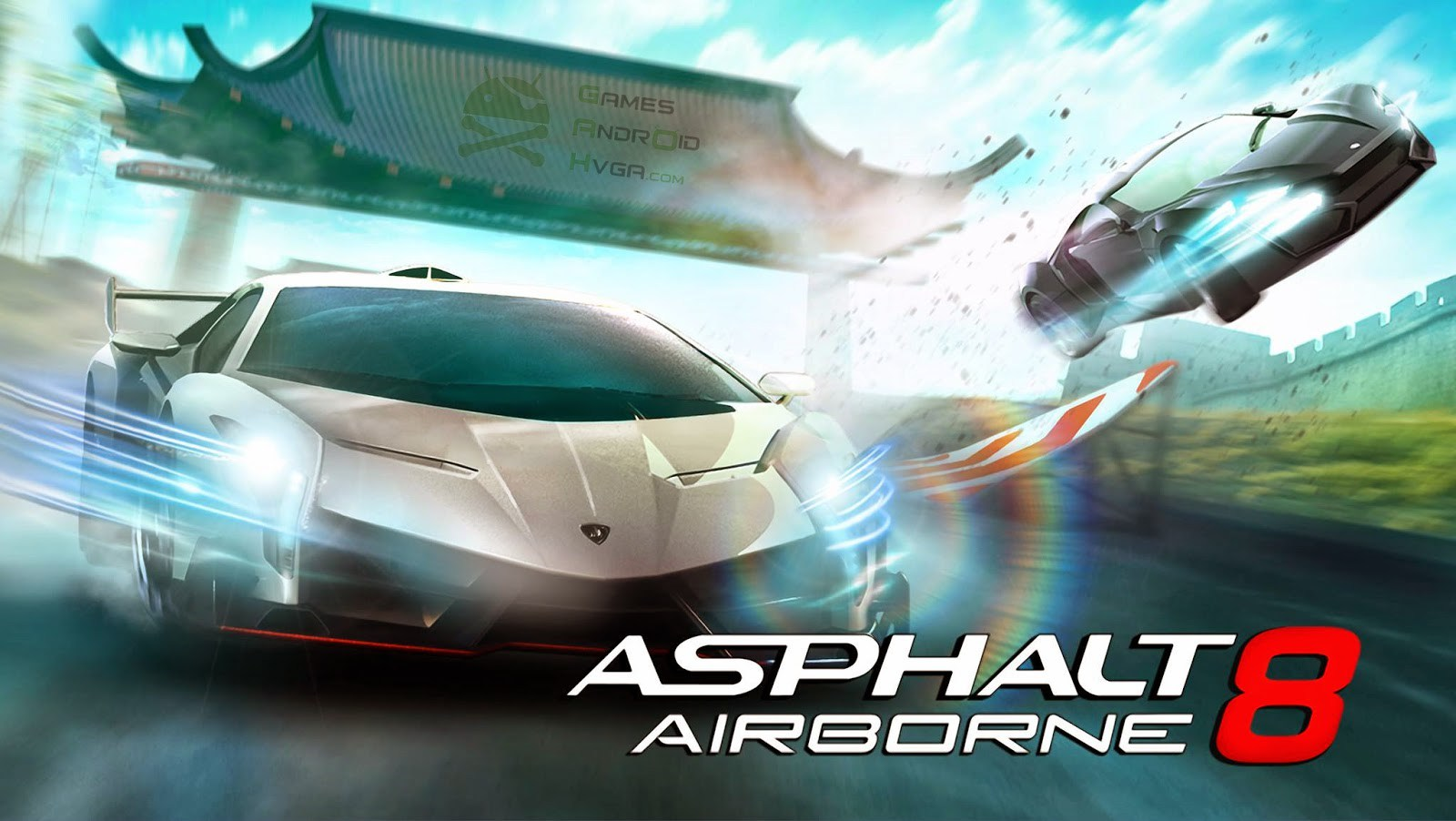 Asphalt 8 Airborne for PC Windows and MAC Free Download