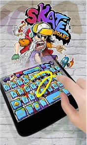 Skate GO Keyboard Theme image