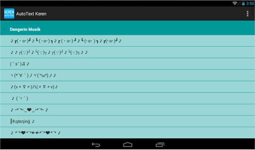 Auto Text Keren for Android image