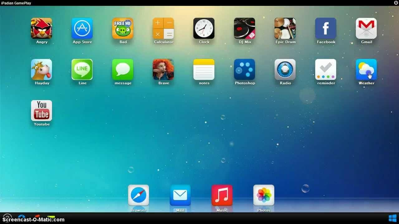 Install iOS app on Desktop / Laptop through iPadian app player