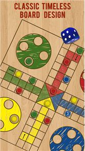 Ludo Parchis Classic Woodboard image