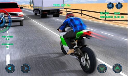 Moto Traffic Race image