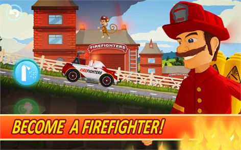 Fire Fighters Racing for Kids image
