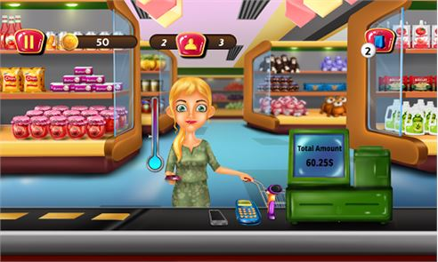Supermarket Cashier Kids Games image
