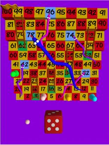 Snakes and ladders 3D image