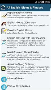 All English Idioms & Phrases image
