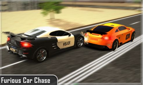 Police Car Chase Smash image
