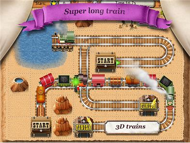 Rail Maze 2 : Train puzzler image