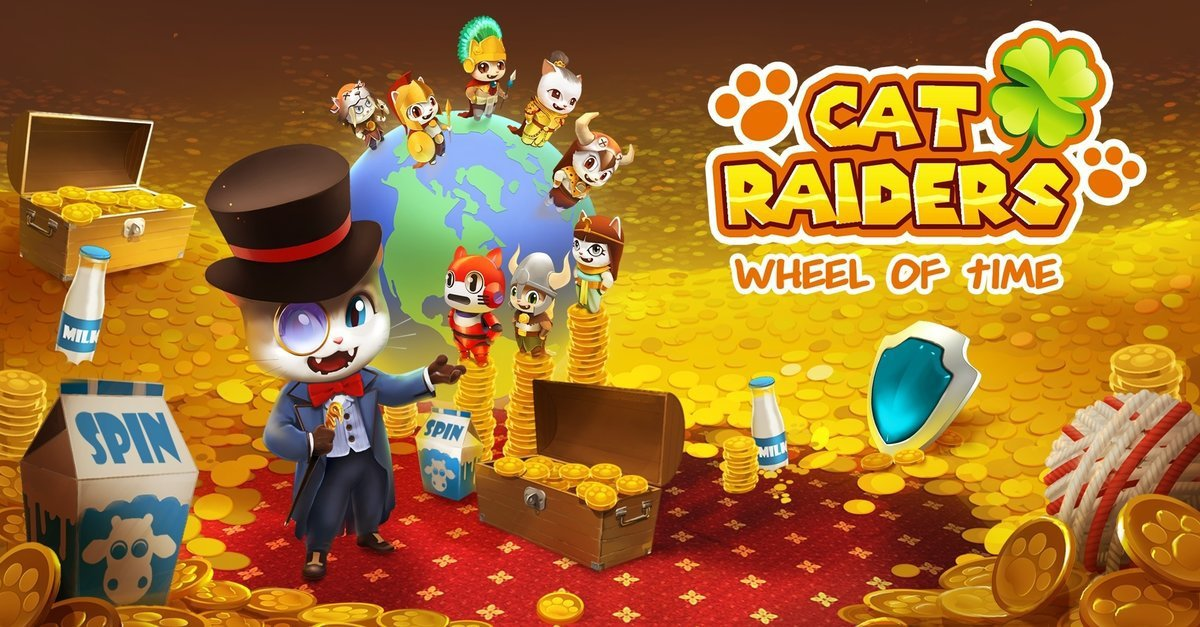 Cat Raiders – Wheel of Time for PC Windows and MAC Free