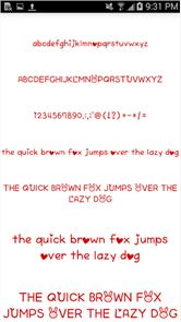Color Fonts for FlipFont #6 image