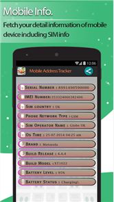Live Mobile address tracker image