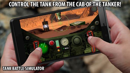 Tank Battle. Simulator image