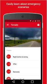 Tornado - American Red Cross image