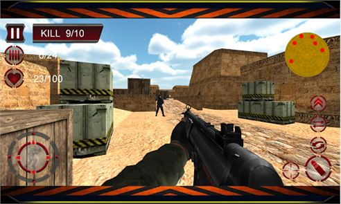 Counter Terrorist Attack 3D image