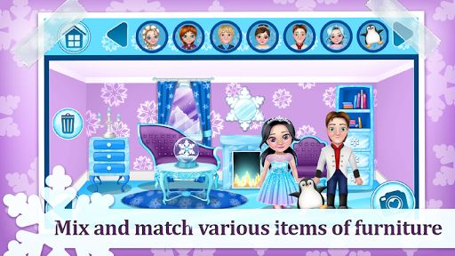 Ice Princess Doll House Games image