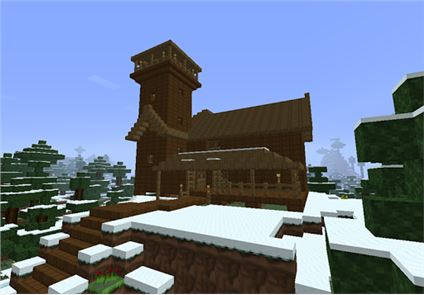 House Building Minecraft Ideas image