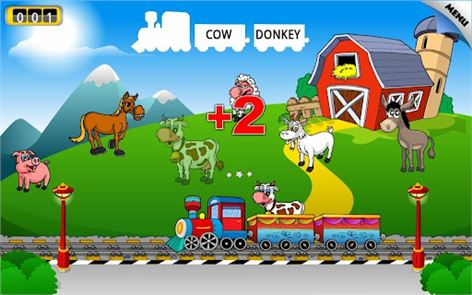 Preschool Learning Games Train image