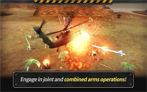 GUNSHIP BATTLE: Helicopter 3D image