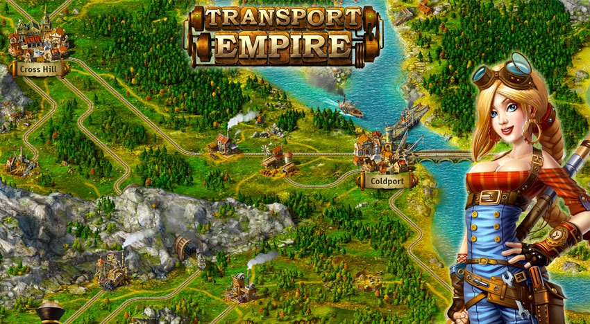 Transport Empire Steam Tycoon for PC Windows and MAC Free Download
