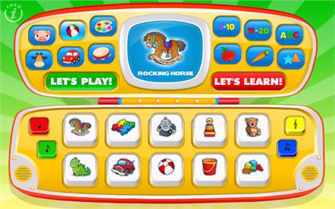 Kids Toy Phone Learning Games image
