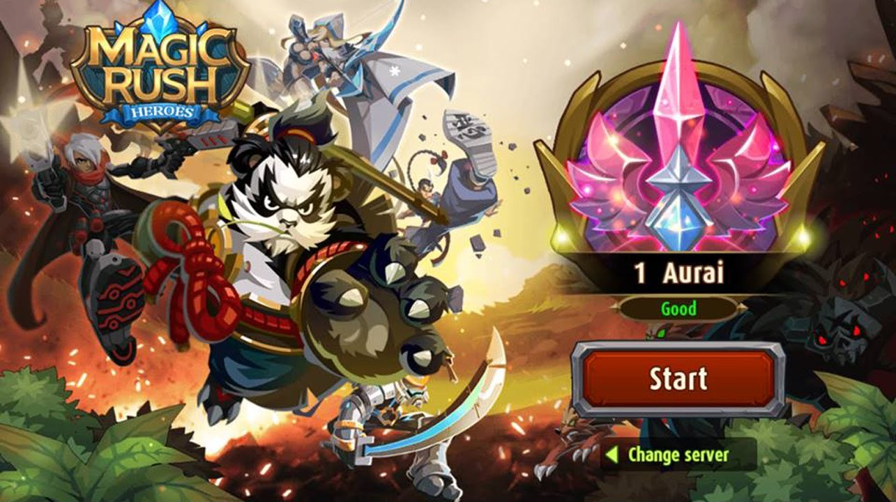 Magic Rush Heroes for PC Windows and MAC Free Download