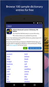 Oxford Advanced Learner's Dict image