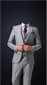 Men Fashion Photo Suit image