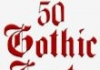 Fonts for FlipFont 50 Gothic