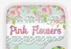 Las flores de color rosa GO Keyboard Theme