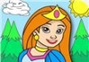 Princess Coloring Game