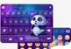 Panda Night Kika KeyboardTheme