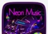 Neon Music GO Keyboard Tema