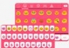 Cute Pink Love Emoji Keyboard
