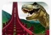 Real do dinossauro RollerCoaster VR
