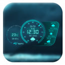 Dash Clock&Neon Weather Widget