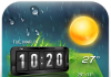 3D Digital Weather Clock Free