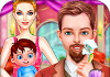 Crazy Beard Salon Girls Games