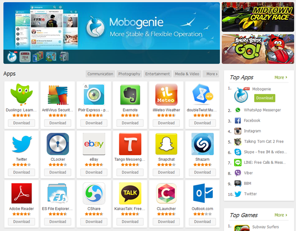 Download Mobogenie Android